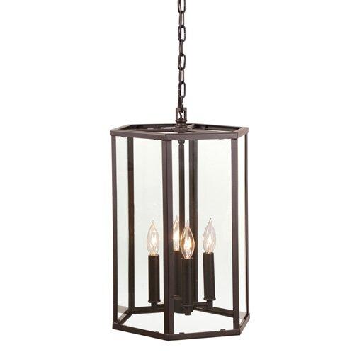 Mickey 4 - Light Lantern Geometric Chandelier By Charlton Home