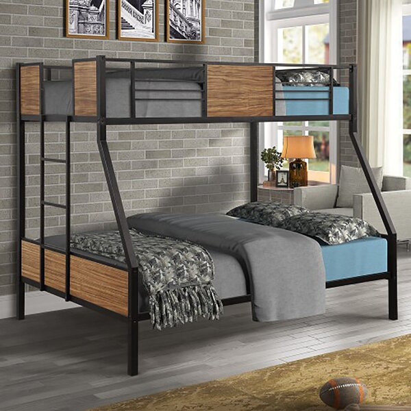 Melvin Twin Over Full Bunk Bed by Harriet Bee