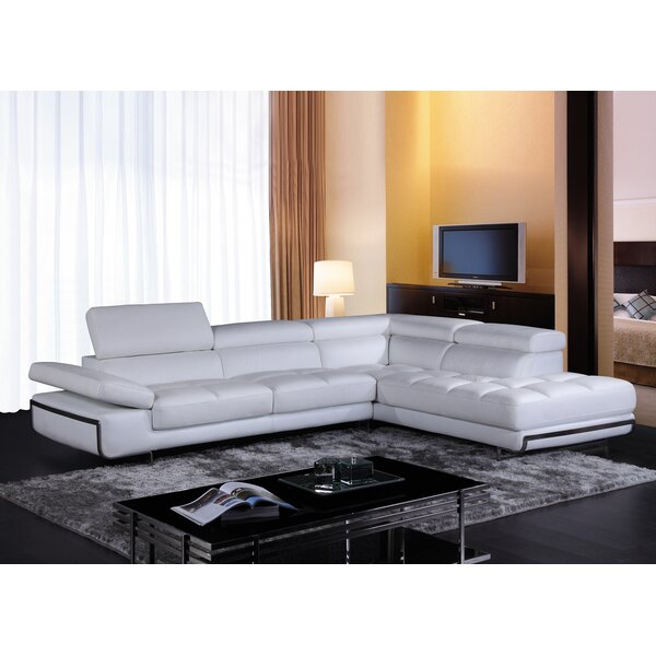 Sceinnker Mini Sectional by Orren Ellis