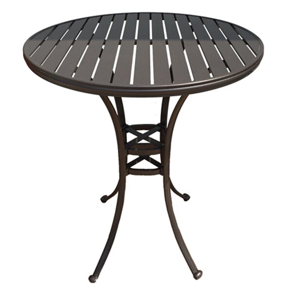 Shoreham Metal Bar Table by Fleur De Lis Living