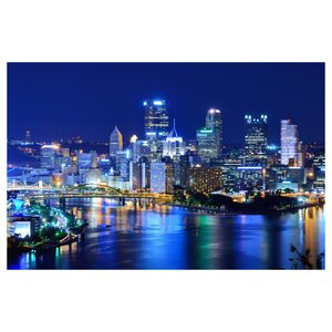 Pittsburgh Photographic Print by Prestige Art Studios