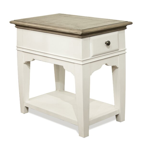 Cardiff Busti End Table By Rosecliff Heights