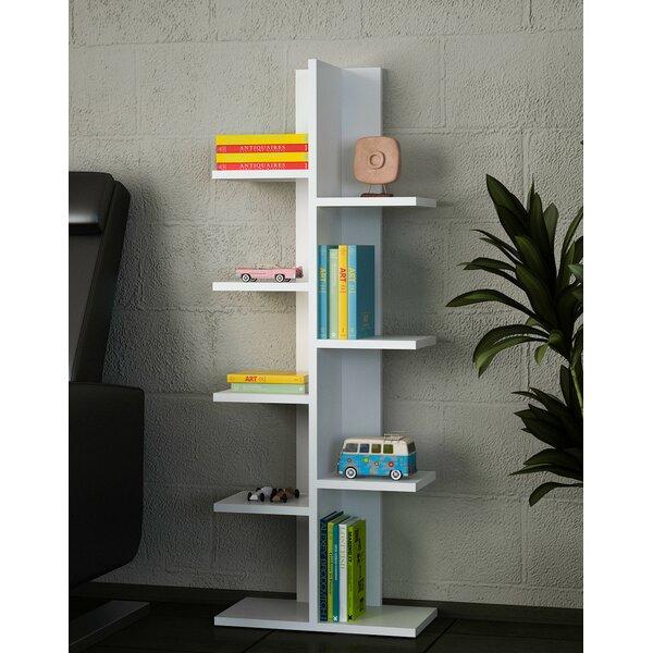 Lippi Geometric Bookcase By Ebern Designs
