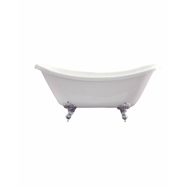 Nova 30 x 67 Freestanding Soaking Bathtub by Azzuri