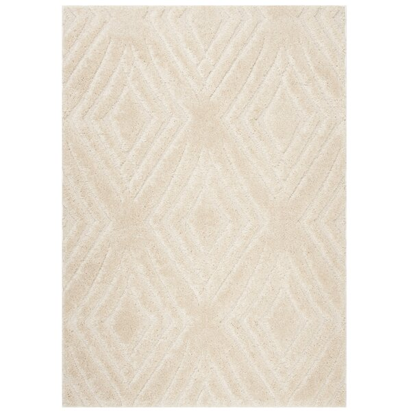 West Village Cream Area Rug by George Oliver