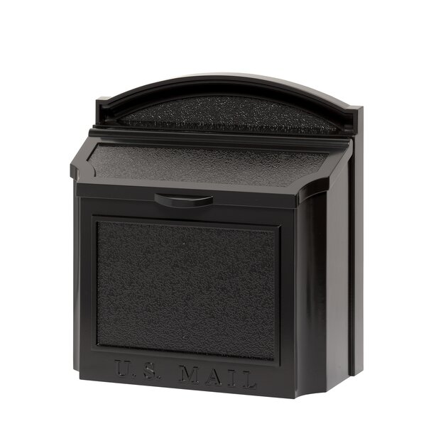 The Large Capacity Locking Wall Mounted Mailbox by Whitehall Products