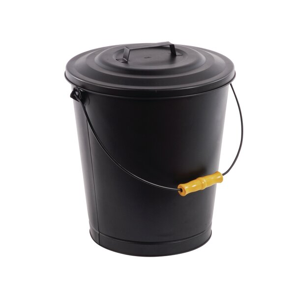 Portable Fireplace Ash Disposal Bin by Pleasant Hearth