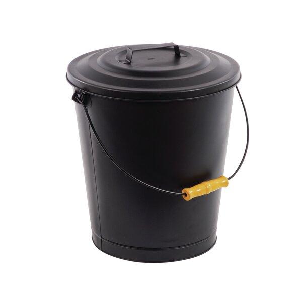Portable Fireplace Ash Disposal Bin by Pleasant Hearth