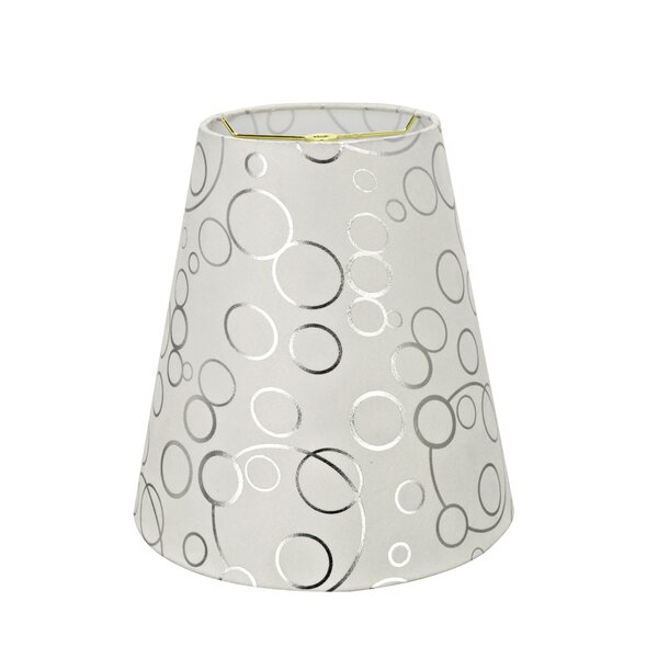 Transitional 12 Suede Empire Lamp Shade by Orren Ellis
