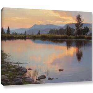 'Tranquil Evening'  Photographic Print On Wrapped Canvas by Loon Peak