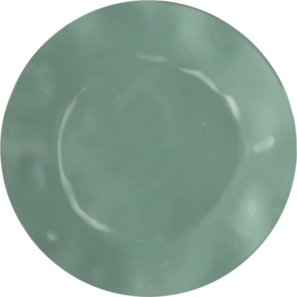 Ruffle Melamine Salad Plate (Set of 4) by Q Squared