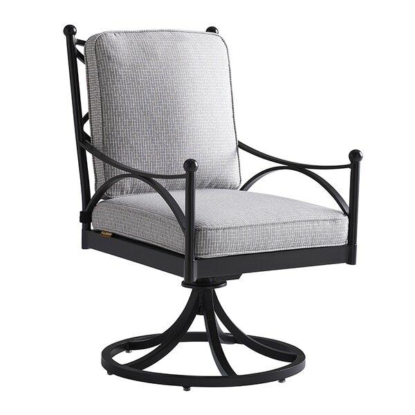 Pavlova Swivel Patio Dining Chair with Cushion by Tommy Bahama Outdoor Tommy Bahama Outdoor