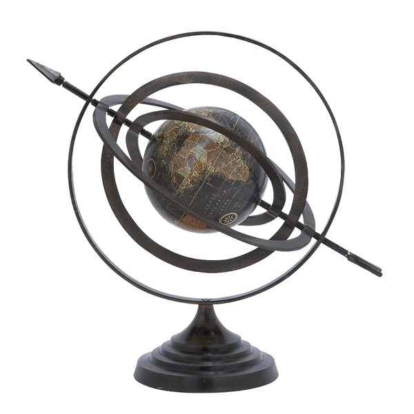 Aluminum Globe by Cole & Grey