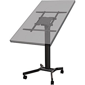 Universal Floor Stand Mount for 65 Flat Panel Screens by Crimson AV