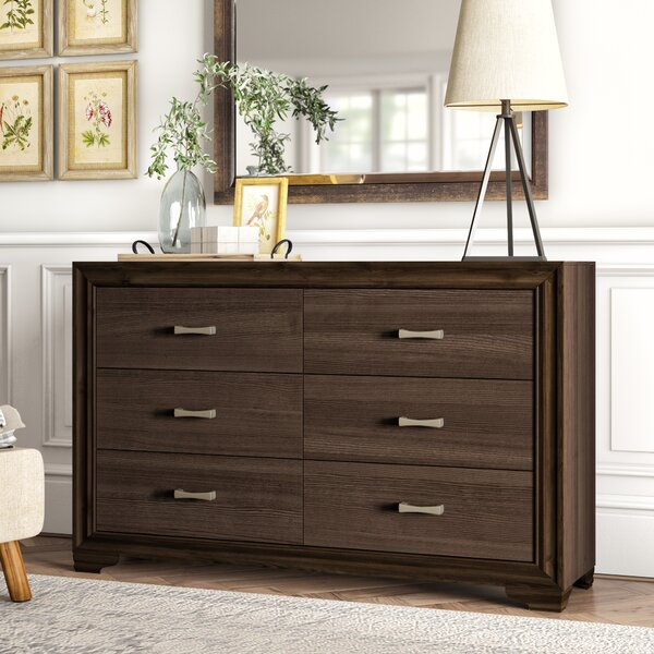 Bowne 6 Drawer Double Dresser by Ivy Bronx