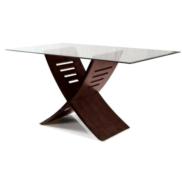 Flickinger Modish Dining Table by Ebern Designs