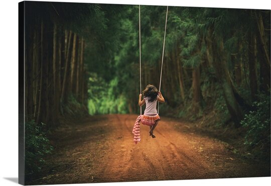 Childhood by Rui Caria Photographic Print on Canvas by Canvas On Demand