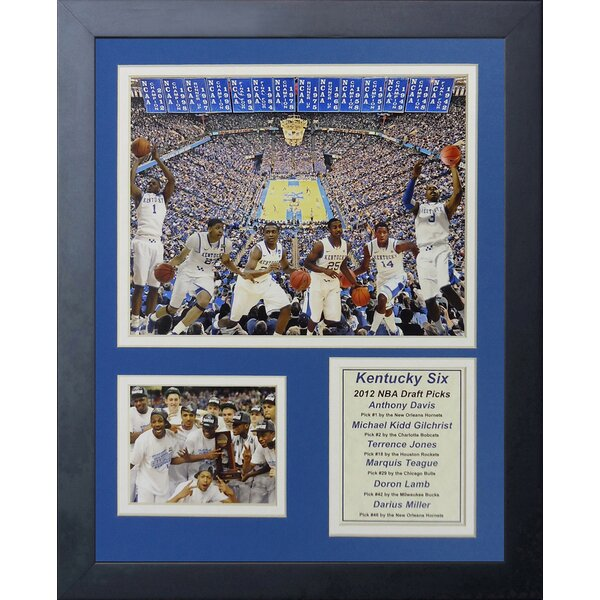 2012 Kentucky Wildcats - Draft Picks Framed Memorabilia by Legends Never Die