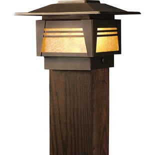 Modern contemporary fence post solar lights allmodern zen garden 1 light fence post cap aloadofball