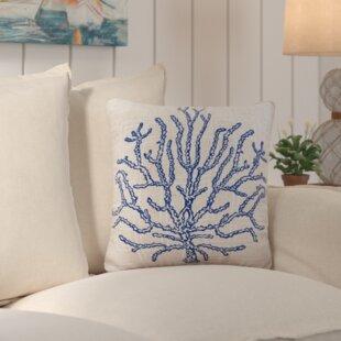 Solana Coral Indoor/Outdoor Pillow