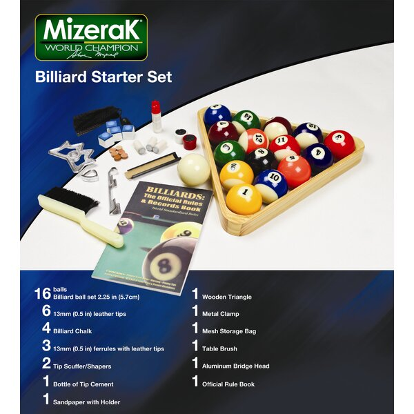 Billiard Starter Set by Mizerak