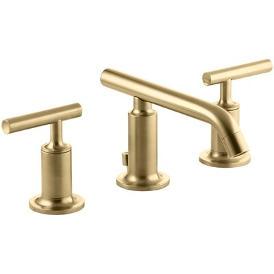 Faucet Drain Moderne Brushed Gold photo