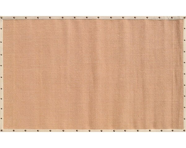 Elwood Hand-Woven Tan/Biege Area Rug by Threadbind