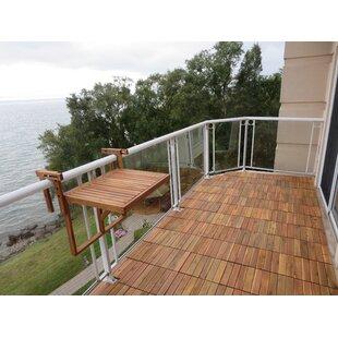 Boulware Balcony Folding Wood Table