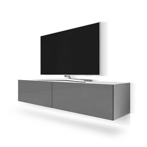 TV-Rack Point für TVs bis zu 55 Selsey Living Farbe: Grau   Wohnzimmer > TV-HiFi-Möbel > TV-Raks   Selsey Living