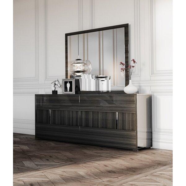 Labombard 6 Drawer Dresser with Mirror by Brayden Studio