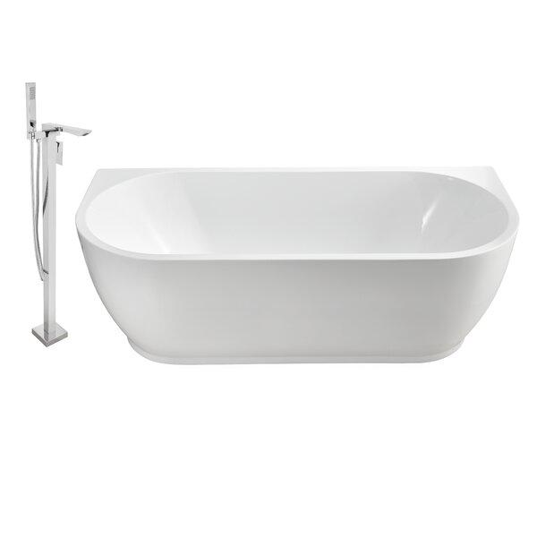 67 x 30 Alcove Soaking Bathtub by Wildon Home ®