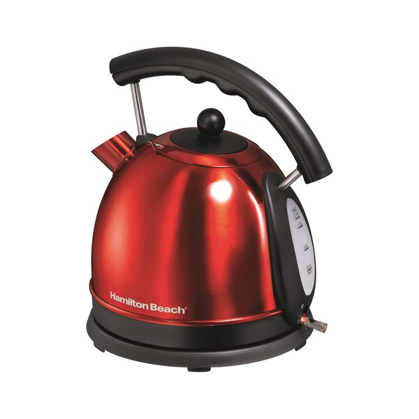 1.7 Qt. Stainless Steel Electric Kettle by Hamilton Beach