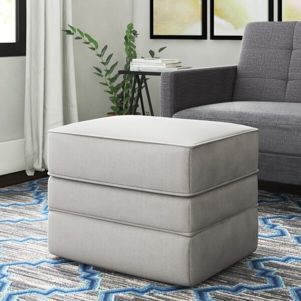 Foote Ottoman by Wayfair Custom Upholstery™