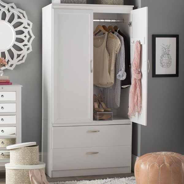 Acapella Wardrobe TV Armoire by South Shore