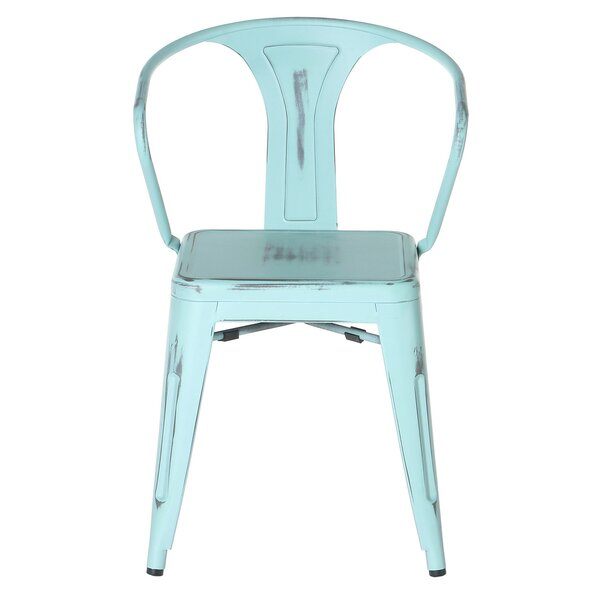 Tolix Stacking Patio Dining Chair by PoliVaz