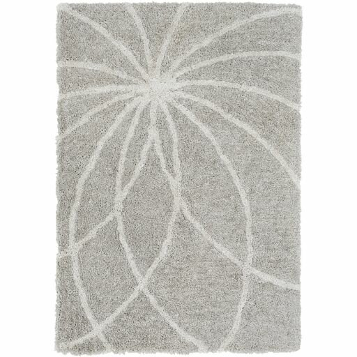 Annie Hand-Tufted Taupe/Ivory Area Rug by Orren Ellis