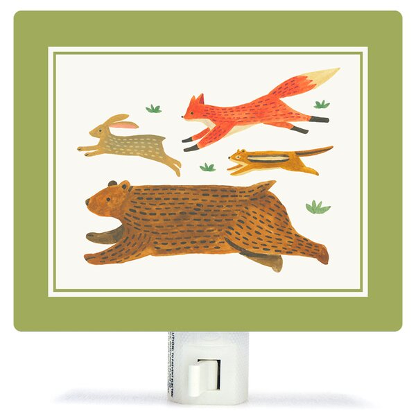 Alphabet of Animals Canvas Night Light by Oopsy Daisy