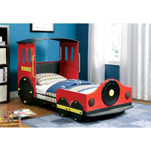Burgos Twin Car Bed by Zoomie Kids