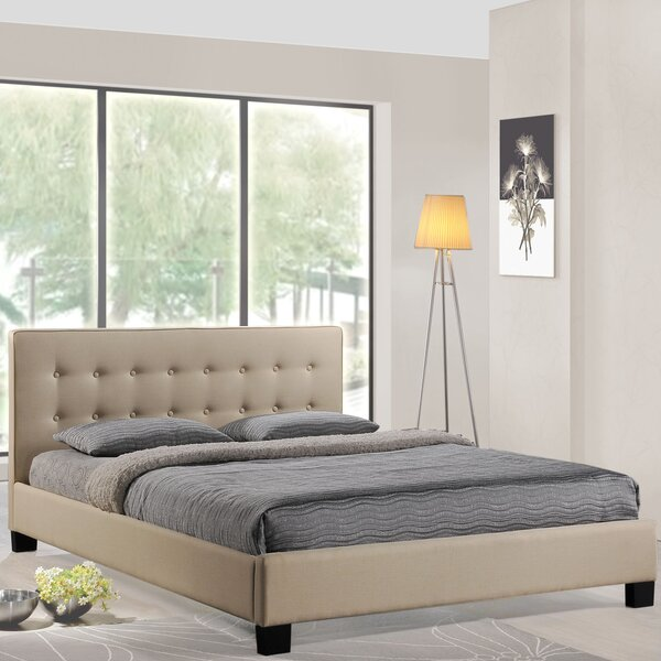 Caitlin Queen Upholstered Platform Bed by Modway