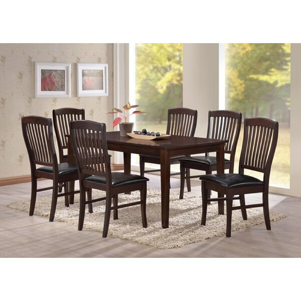 Cleckheat Indoor 7 Piece Dining Set by Darby Home Co