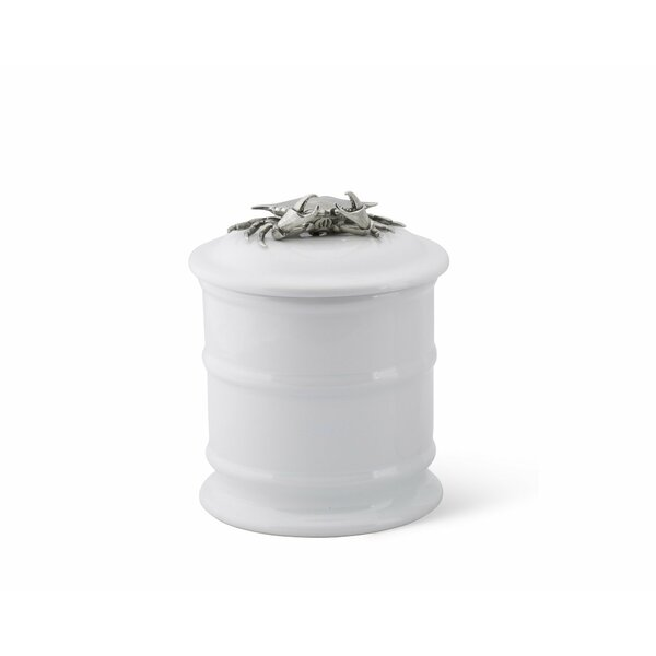 Sea and Shore Stoneware Kitchen Canister by Vagabond House