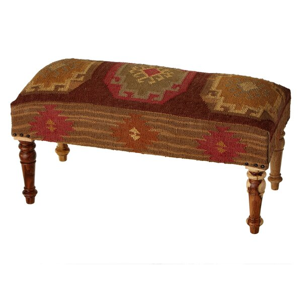 Akridge Upholstered Bench by Millwood Pines