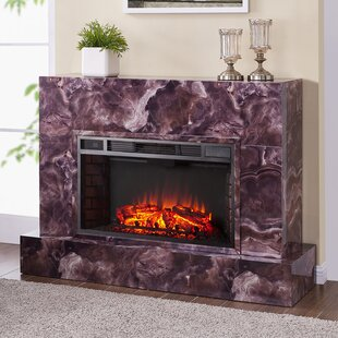 Torvelle Tv Stand For Tvs Up To 43 Inches With Electric Fireplace Included