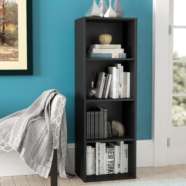 Sankey 4 Shelves Standard Bookcase by Andover Mill
