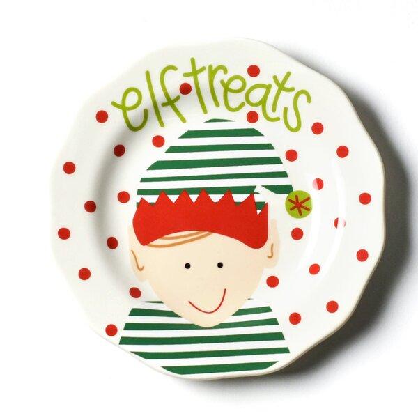 North Pole Elf Treats 6 Saucer by Coton Colors