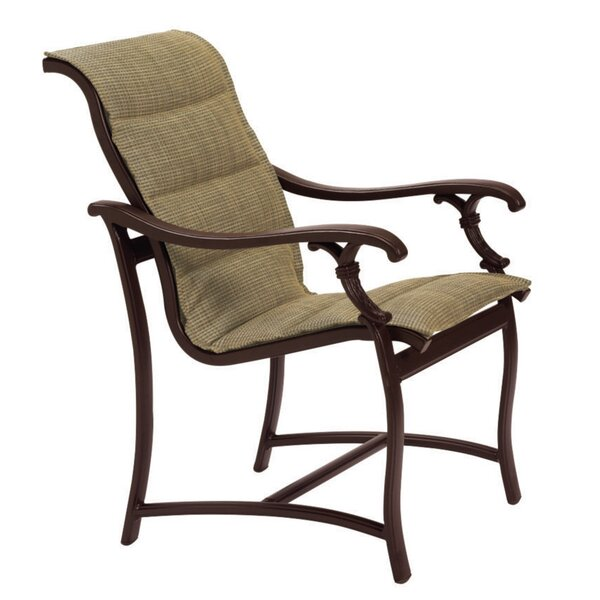 Ravello Patio Dining Chair with Cushion by Tropitone