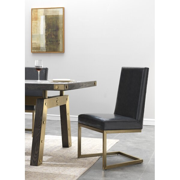 Rockport Upholstered Dining Chair (Set of 2) by Everly Quinn