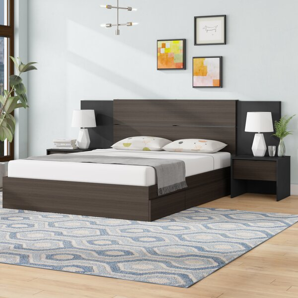 Mcintyre Platform 2 Piece Bedroom Set By Ivy Bronx by Ivy Bronx Discount