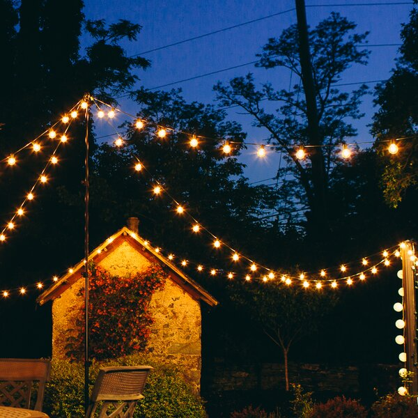 100-Light Globe String Lights by Hometown Evolution, Inc.