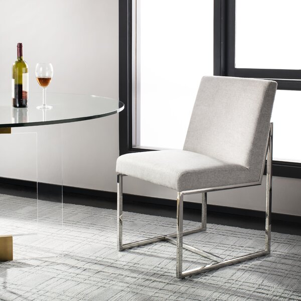 Slavens Upholstered Dining Chair by Orren Ellis Orren Ellis